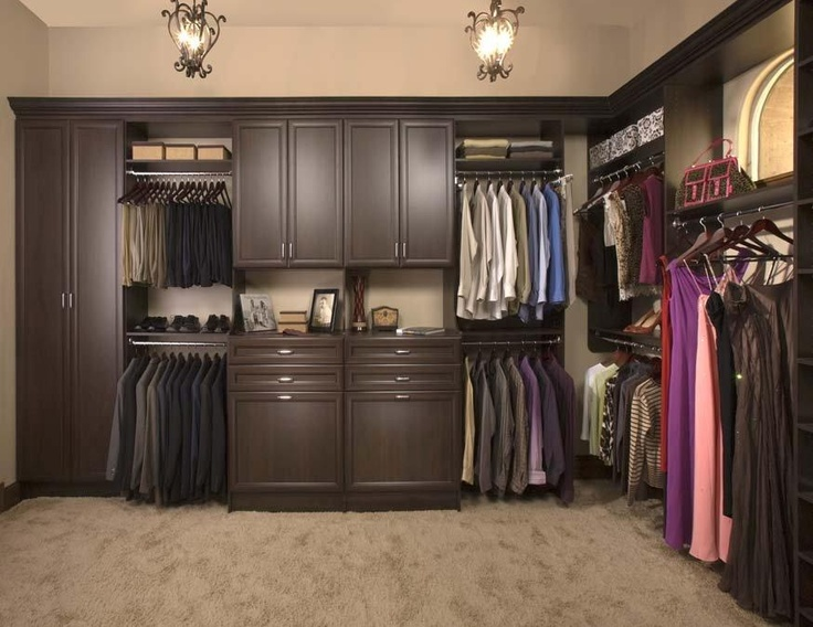 Awesome Custom Walk In Closet Organizers: Chocolate Pear   Contemporary   Closet  Organizers   Los Angeles   Interior Door U0026 Closet Company