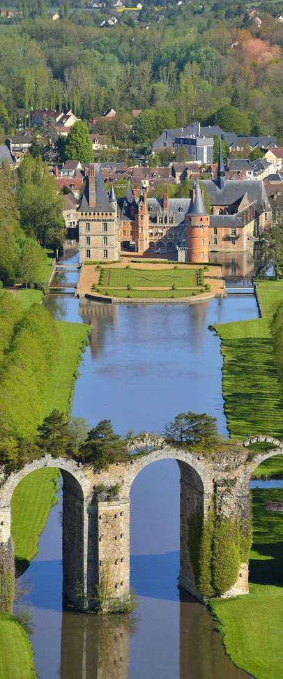 The Château de Maintenon in France.