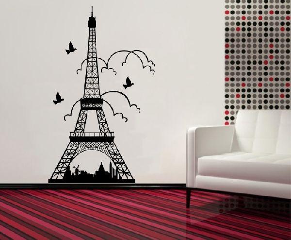 Falmatrica,Faltetoválás Eiffel torony Párizs