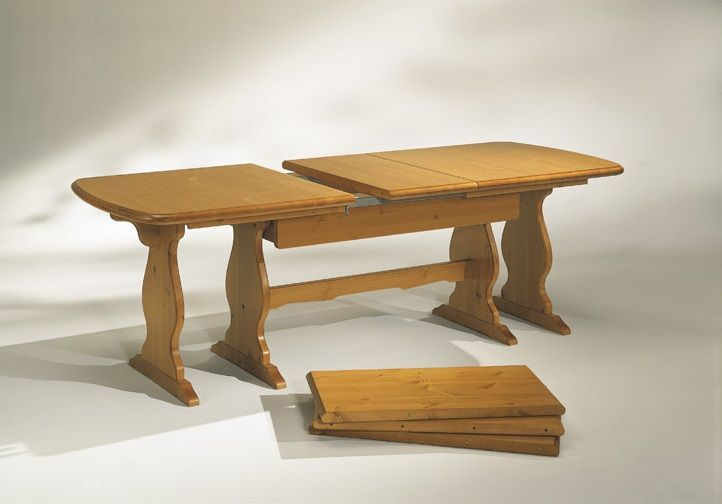 Tavolo in pino massiccio da cm. 190 x 90 allungabile a cm. 360, corredato di 4 prolunghe. #Catalogo Demar Mobili rustici. #tavoli #tavolipino #arredamenti #mobili #offerte #promozioni www.demarmobili.it