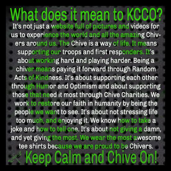 What KCCO means to me