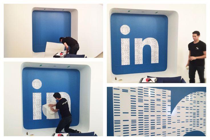 LinkedIn's Logo.