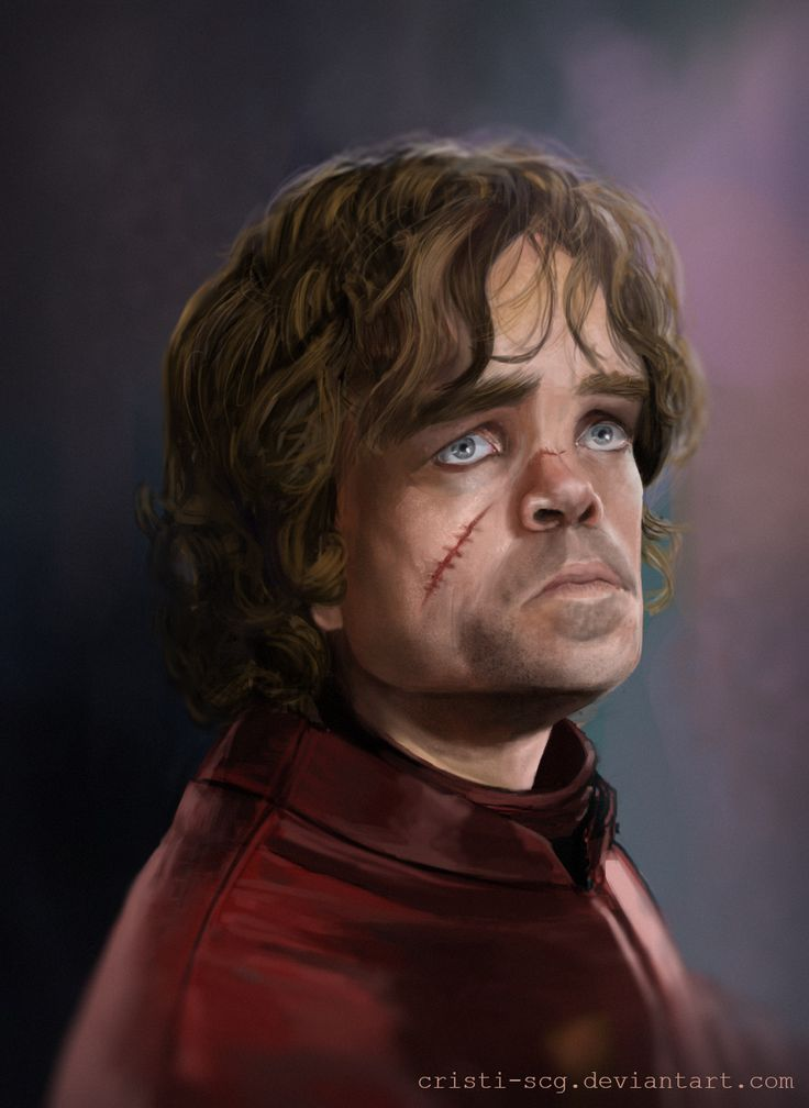 Tyrion Game Of Thrones, digital portret.