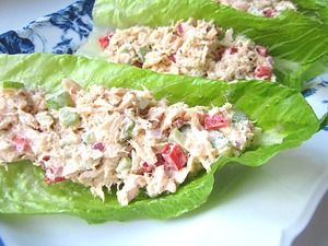 21 Day Fix Tuna Lettuce Wraps