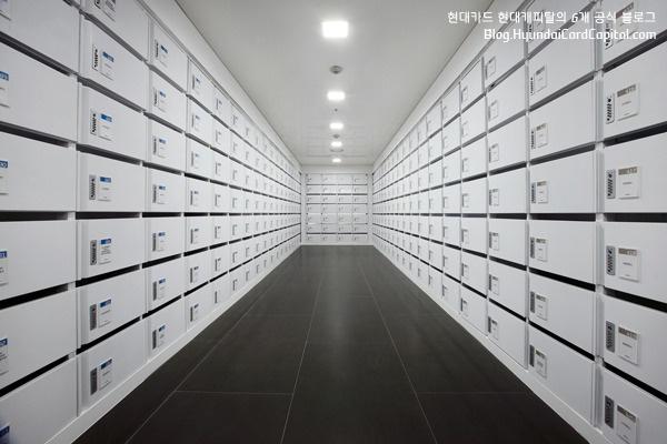 진화를 거듭하는 현대카드 현대캐피탈 사옥_메일박스(Mail Box)