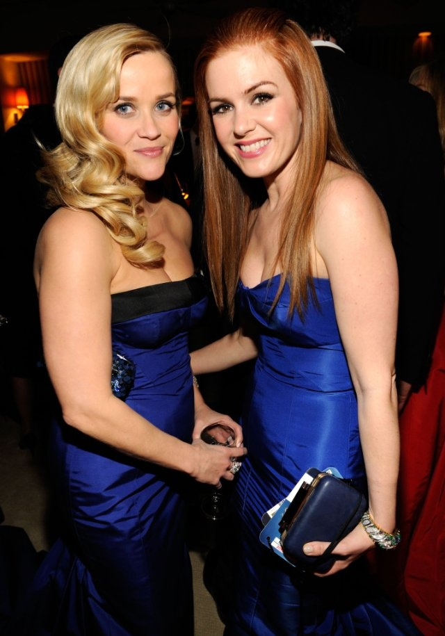 Reese Witherspoon and Isla Fisher