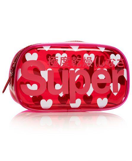 Superdry Heart Neon Bag #BackToSchool #SDStudentStyle #Superdry #PencilCase #SchoolEssentials #SchoolStationary #PencilCases #Stationary #SuperdryStationary #SuperdryPencilCase