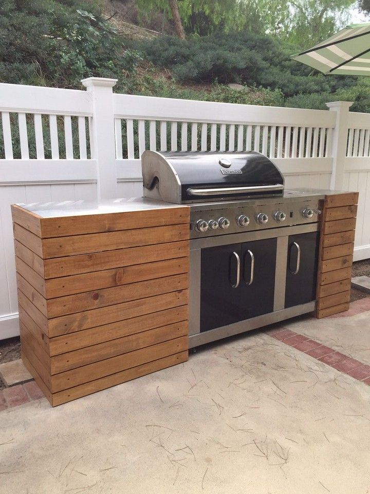 10 Amazing Diy Grill And Bbq Island Plans Outdoor Grill Island Outdoor Bbq Kitchen Outdoor Barbeque