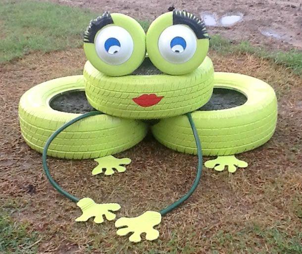 Aparador Alto Nogal ~ 17 melhores ideias sobre Jardim De Pneus no Pinterest Horta com pneus, Plantadores de pneus e