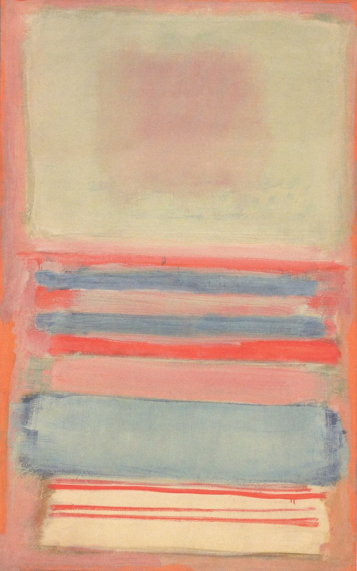 No. 7 (or) No. 11 by Mark Rothko, 1949. Oil paint on canvas, 173 x 111 cm.