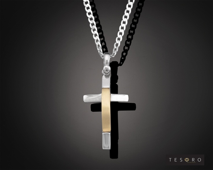 Tesoro Cross - 9 Karat GV330/9CR YW $275.00 Approximate Length - 3.00cm  Tesoro Chain - 9 Karat GV272/9CH WG $279.00 50cm length - 45cm $255.00  MADE IN ITALY