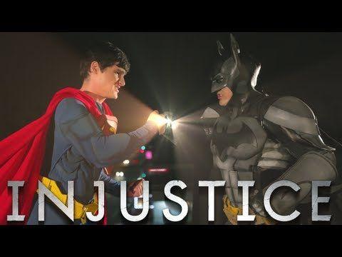 BATMAN vs SUPERMAN - INJUSTICE MUSIC VIDEO