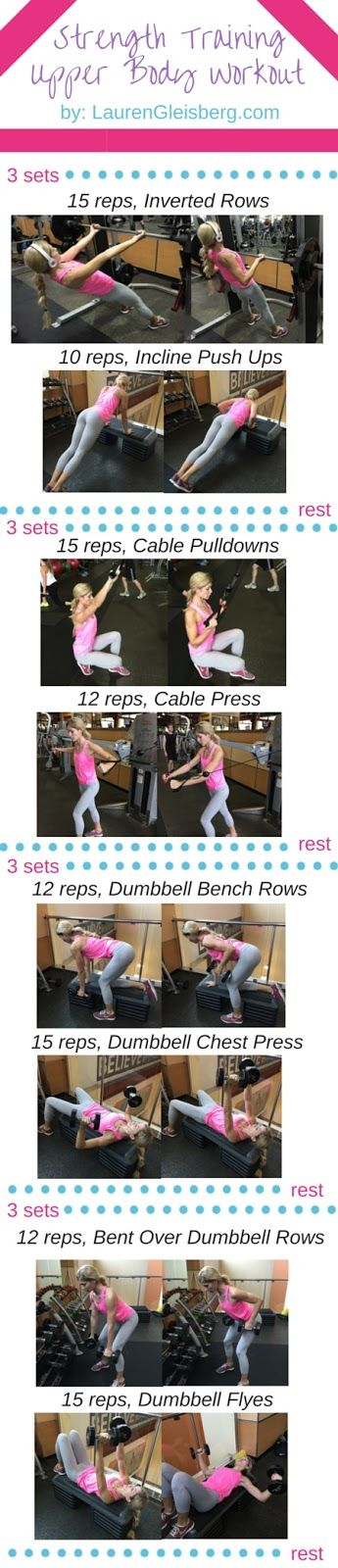 Chest & Back Upper Body Workout   click for the full workout plan