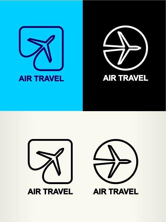 Aviation Logos Air Travel Aviation Logo Unity Logo Travel Logo
