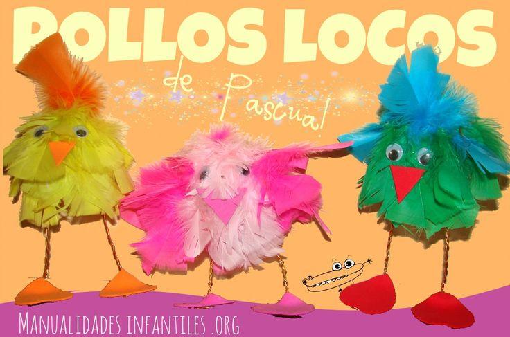 Pollitos locos de Pascua
