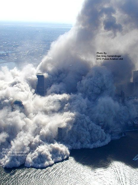 Aerial pictures, never seen before, of the September 11 2001 attacks on the World Trade Center - Telegraph