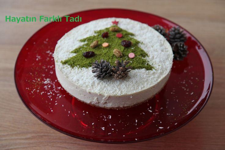 Sağlıklı yılbaşı pastası