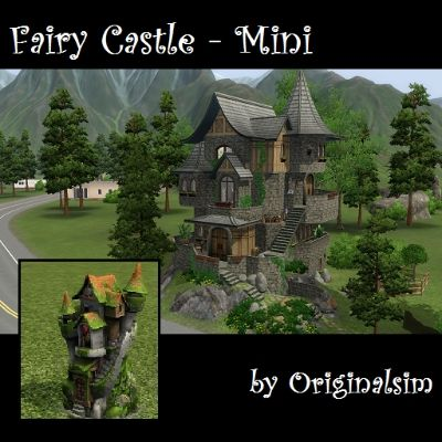 Fairy Castle - Mini by originalsim - The Exchange - Community - The Sims 3