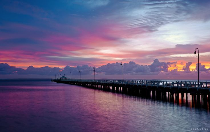 Shorncliffe Pier by Yeu Thi Tran on 500px Shorncliffe Pier, built in the 1880s in Shorncliffe a northern suburb of Brisbane, Queendsland. It is one of the longest and largest timber recreational piers in Australia.