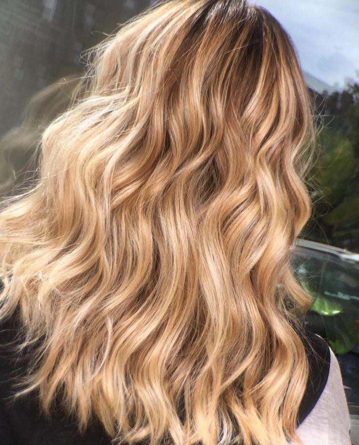 Ig Joi Salon And Spa Escape Gordillogy Goldblonde Haare Honigblonde Haare Balayage Frisur