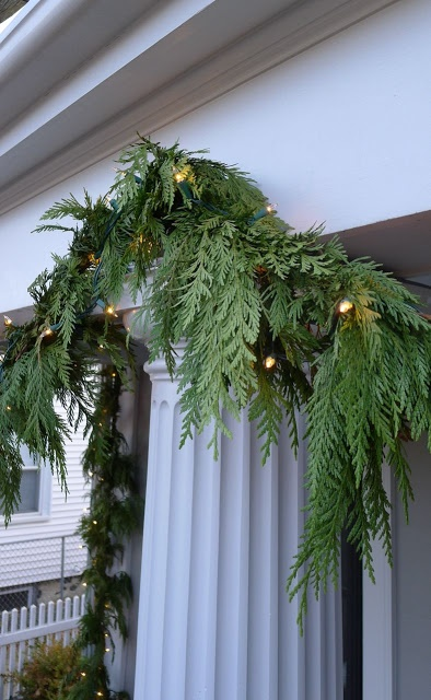 Fresh Cedar Garland Christmas Ii Pinterest Twinkle