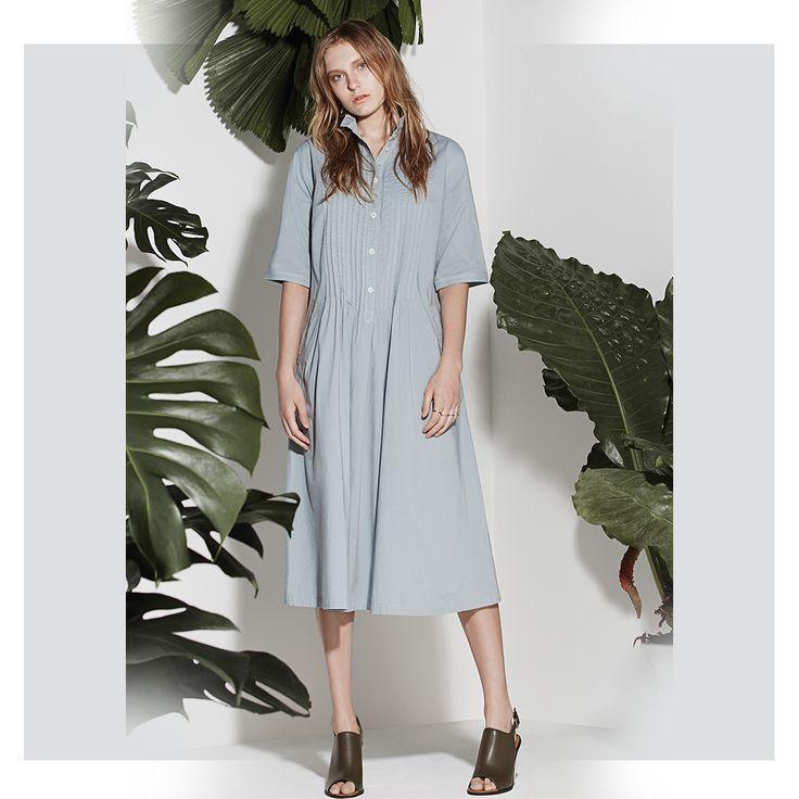 Yacco Maricard Cotton Calico Dress