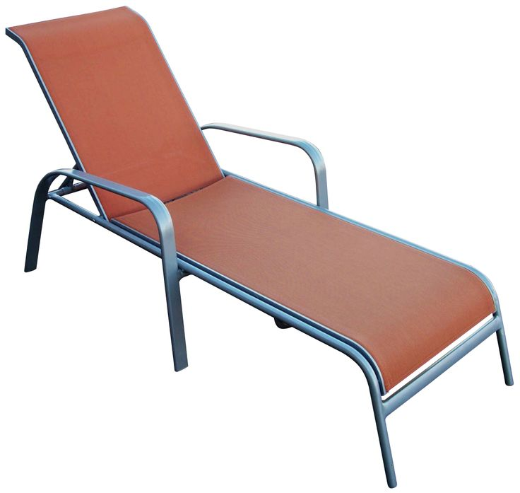 Outdoor Furniture.  Aluminium sunlounge.  Available in other colours.