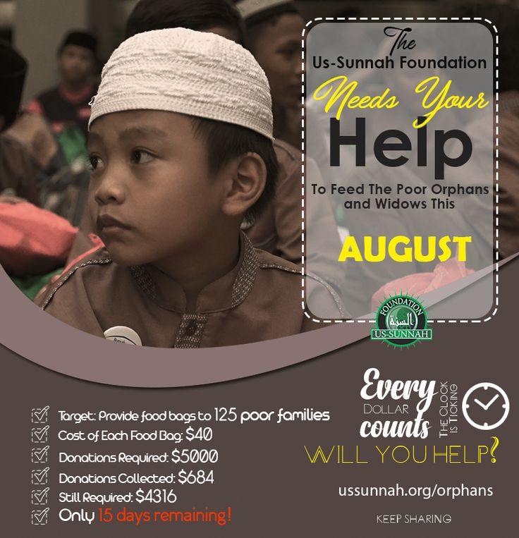 HURRY! Play Your PART and HELP Us Reach Our TARGET!  #WillYouHelp #Feed #Orphans #Donate #HelpThem