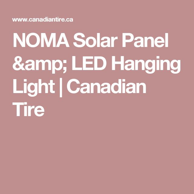 Solar Patio Lights Canadian Tire: 17 Best Ideas About Led Panel Light On Pinterest