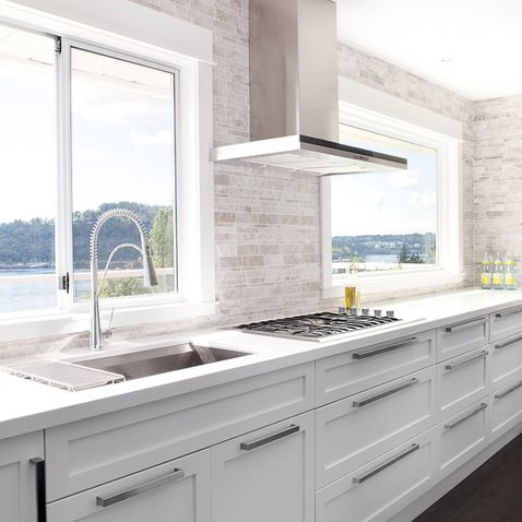Modern White Kitchen Design Ideas, Pictures, Remodel, and Decor - page 5