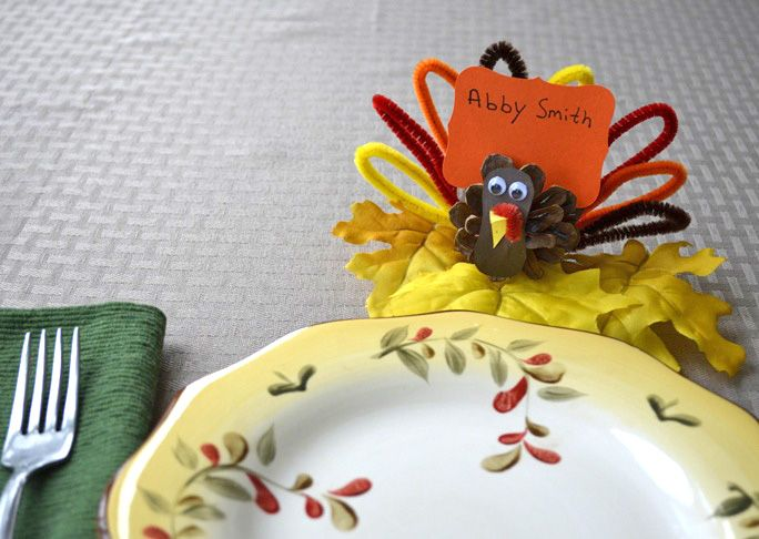 Here is a super-simple Pinecone Turkey craft you can make with kids for fall or Thanksgiving. This is a low-cost DIY, especially if you can find the pinecones in your yard, or on a nature walk. Make several of these and put one at each person's plate for Thanksgiving dinner, add a name card and …