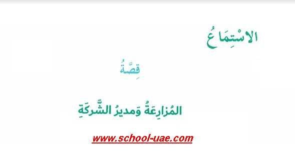 حل درس المزارعة ومدير الشركة لغة عربية الصف السادس الفصل الثانى 2020 Math School Home Decor Decals
