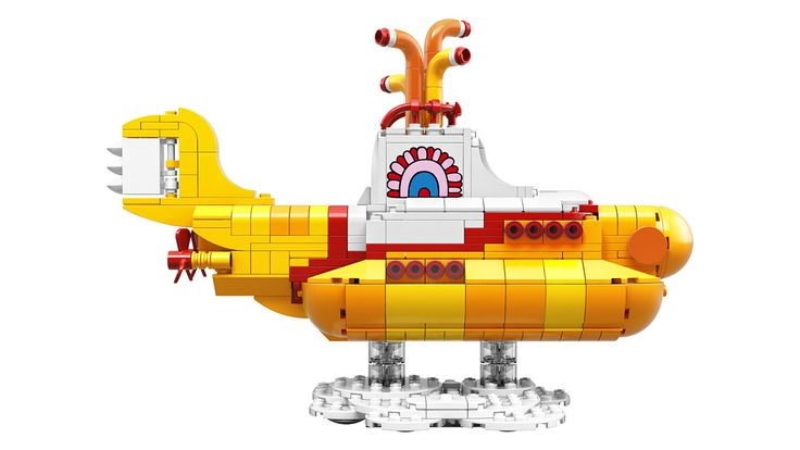 First Look: Lego Beatles Yellow Submarine (Video)  John Paul George and Ringo get minifigured in the set that goes on sale November 1.  read more