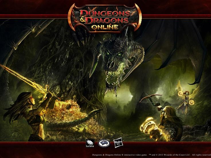 Dungeons Amp Dragons Online 4 3 Wallpaper Black Dragon