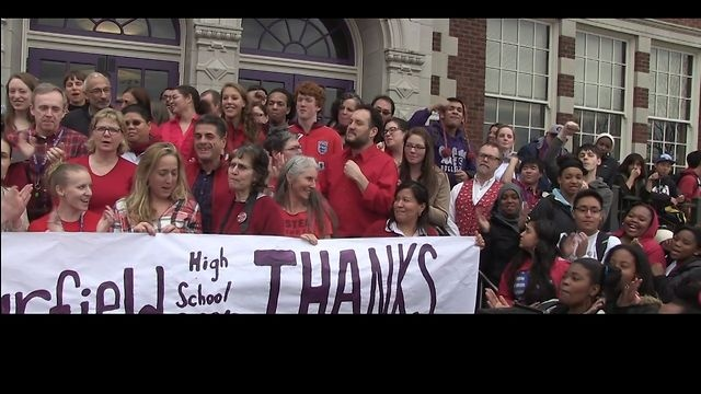 Stand Up: The Day the Teachers Said No.  This film documents the unanimous decision by teachers and staff at Garfield High School (Seattle, Washington) to refuse to administer one of several required standardized student assessments.