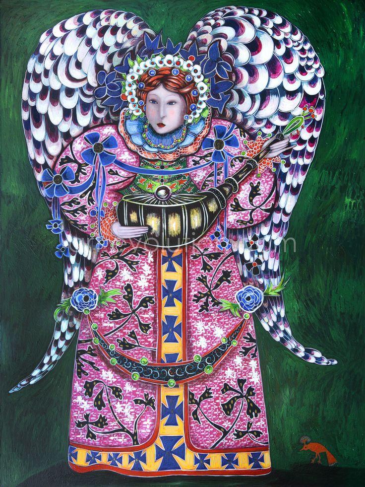 Angel by Toller Cranston