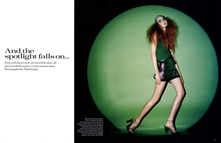 Val Garland British Vogue 2004