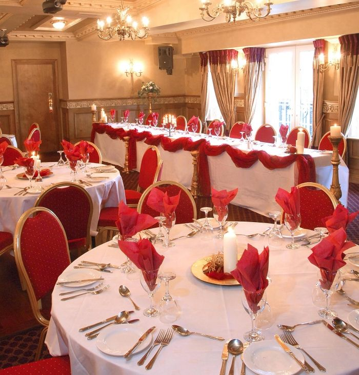 Red And White Wedding Table Centerpieces - Best Home Interior •