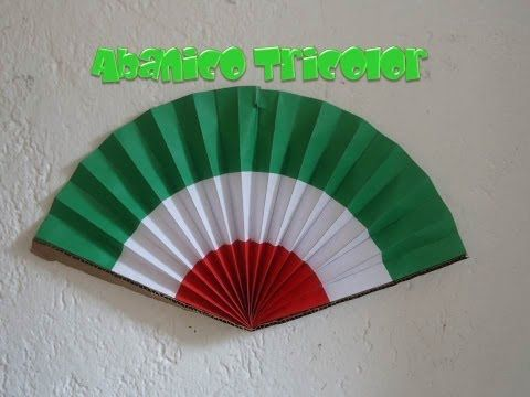 Abanico Tricolor | Fiestas Patrias - YouTube