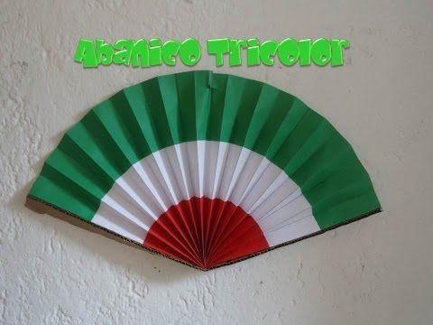 Abanico Tricolor | Fiestas Patrias - YouTube
