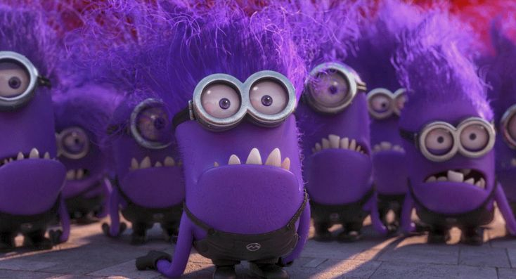 Evil Minions From Despicable Me | Despicable Me 2 gif - Evil minion yells by ClassicsAreDEAD