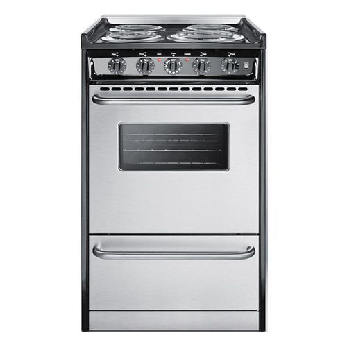 Stainless Steel Apartment Size Stove - TheApartment