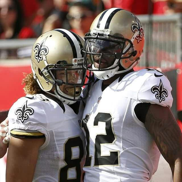 Nike jerseys for sale - Saints Willie Snead and Marques Colston | My New Orleans Saints ...