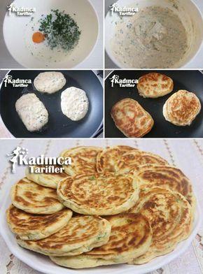 Another way of Turkish pancakes....yum!