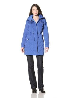 Ellen Tracy Women's Anorak with Stowed Hood