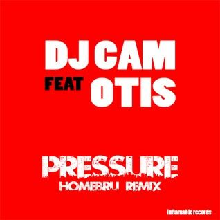 Dj Cam Featuring Otis \\\\ Pressure \\\\ Homebru - Speed Garage Remix.....1998 Inflammable Records