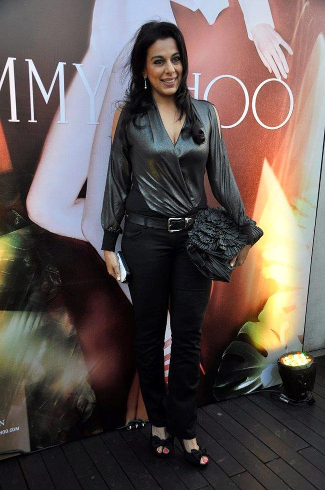 Pooja Bedi at an event by Jimmy Choo to celebrate International Women's Day. #Style #Bollywood #Fashion #Beauty #Page3