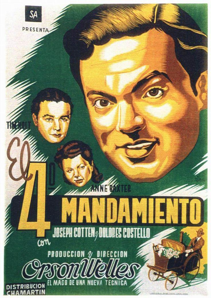 1942 - El 4º mandamiento - The magnificent Ambersons