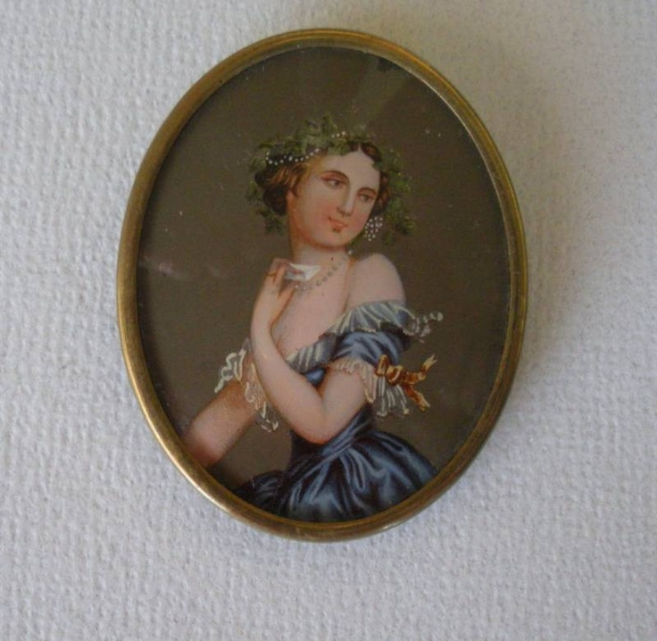 ca. 1890 Antique cameo broach reverse painted on glass | eBay: Broach Revere, 1890 Antiques, Glasses Paintings, Antiques Revere, Broach Reverse, Revere Paintings, Reverse Paintings, Cameo Broach, Antiques Cameo