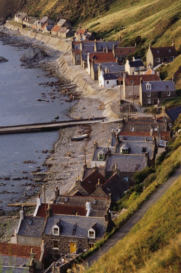 50 Most Beautiful Villages in Europe That You Must Visit in 2013: Crovie, Scotland, United Kingdom